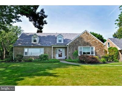 Huntingdon Valley Single Family Home For Sale: 448 Moredon Road