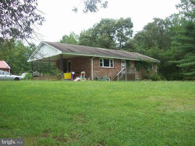 Caroline County Single Family Home For Sale: 7236 C C C Road