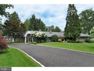 Huntingdon Valley Single Family Home For Sale: 1835 Cathedral Road