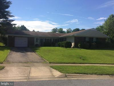 Bowie Single Family Home Active Under Contract: 12215 Rockledge Drive
