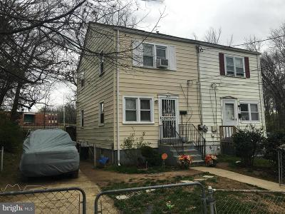 Landover Single Family Home Active Under Contract: 2313 Fire House Road