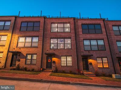Baltimore City Townhouse For Sale: 612 Dean Street S