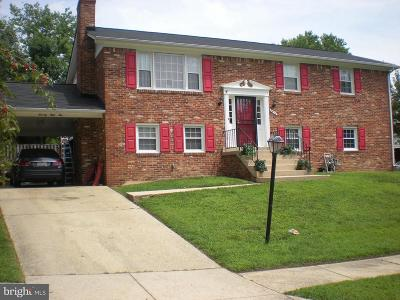 Upper Marlboro Single Family Home Active Under Contract: 7810 Locris Court