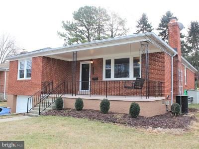 Catonsville Single Family Home For Sale: 1925 Old Frederick Road