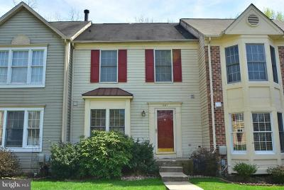 Bel Air Townhouse Under Contract: 1021 Wingate Court #M-2