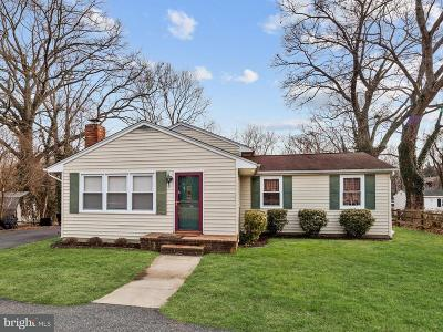 Annapolis Single Family Home For Sale: 629 N Bestgate Road