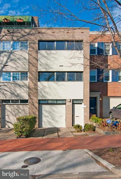 Foggy Bottom Townhouse For Sale: 2529 I Street NW