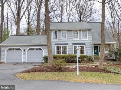 Burke, Springfield Single Family Home For Sale: 5836 New England Woods Drive