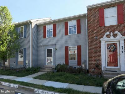 Odenton Townhouse For Sale: 638 Realm Court W