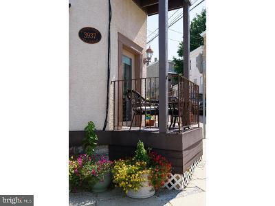 Manayunk Townhouse For Sale: 3937 Terrace Street