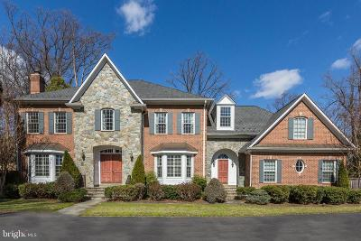 Bethesda MD Single Family Home For Sale: $2,495,000