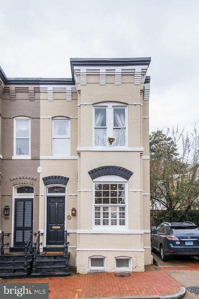 Washington Townhouse For Sale: 3422 N Street NW