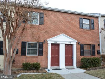 Fairfax Townhouse For Sale: 11136 Snughaven Lane