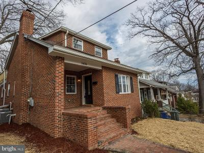 Washington Single Family Home For Sale: 1406 Lawrence Street NE