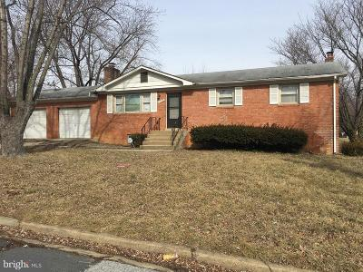 Prince Georges County Single Family Home Under Contract: 7904 Daniel Drive
