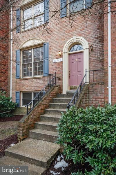 Silver Spring Townhouse For Sale: 10944 Rocky Mount Way
