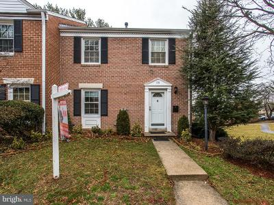 Gaithersburg Townhouse Active Under Contract: 25 Longmeadow Drive