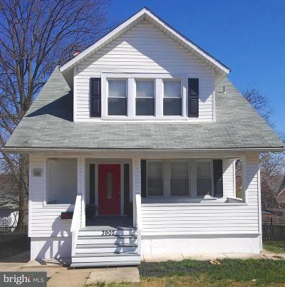 Baltimore Single Family Home For Sale: 3902 Woodlea Avenue