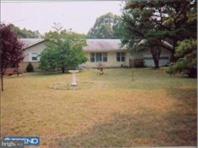 Tabernacle Twp Single Family Home For Sale: 1001 Chatsworth Road