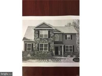 Bucks County Single Family Home For Sale: Lot 7 William Road