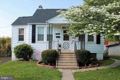Hagerstown Single Family Home For Sale: 426 Washington Street E