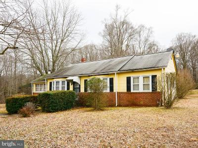 La Plata Single Family Home For Sale: 7655 Hawthorne Road