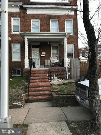 Baltimore MD Townhouse For Sale: $39,000