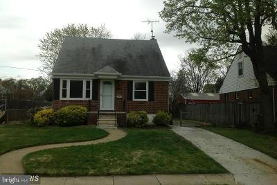 Baltimore MD Single Family Home For Sale: $160,000