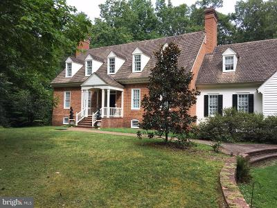Fredericksburg VA Single Family Home For Sale: $790,000