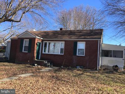 Cecil County Single Family Home For Sale: 14 Norman Allen Street