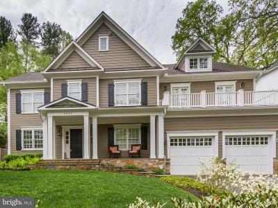 Bethesda Single Family Home For Sale: 6020 Dellwood Place
