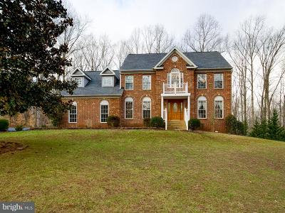 Stafford VA Single Family Home For Sale: $549,900