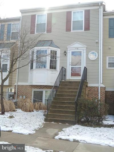 Crofton Townhouse For Sale: 1119 Simsbury Court