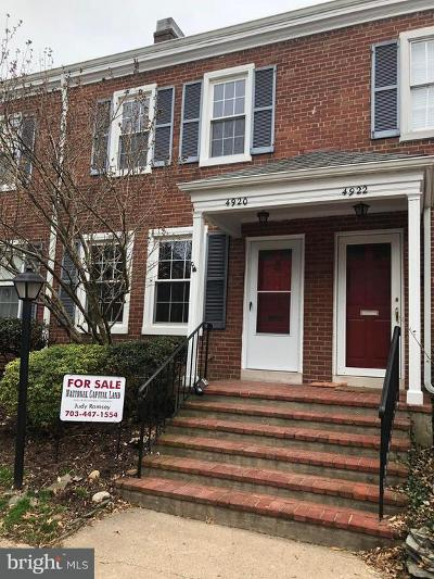 Arlington Townhouse For Sale: 4920 29th Road S
