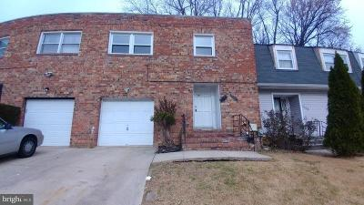 Capitol Heights Townhouse For Sale: 7406 Drumlea Road