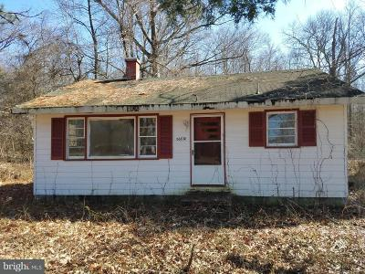 Bushwood MD Single Family Home For Sale: $5,000