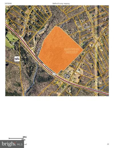 Stafford County Residential Lots & Land For Sale: Warrenton Road
