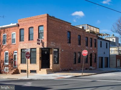 Canton, Canton Company, Canton Cove, Canton East, Canton, Patterson Park, Canton/Brewers Hill, Canton/Lighthouse Landing Townhouse For Sale: 1000 Clinton Street S