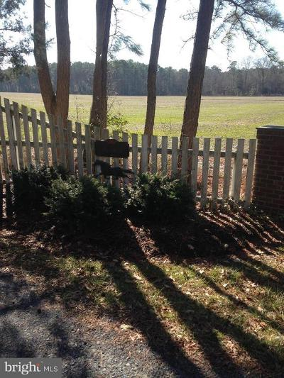 Dorchester County Residential Lots & Land For Sale: Town Point Road S
