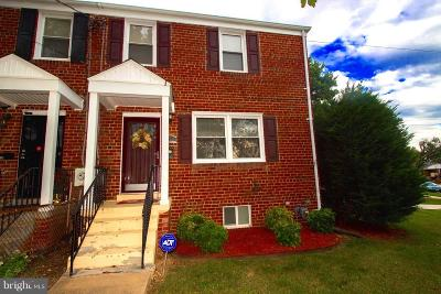 Temple Hills MD Single Family Home Under Contract: $205,000