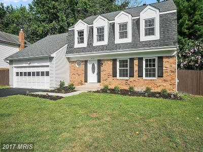 Brookeville Single Family Home For Sale: 18916 Heritage Hills Drive