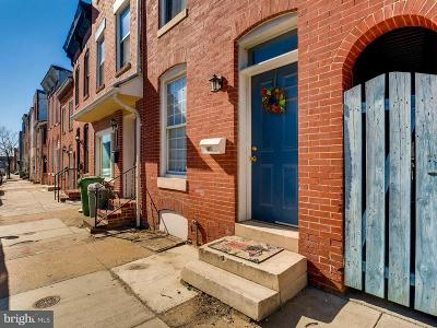 Baltimore Townhouse For Sale: 1716 Light Street