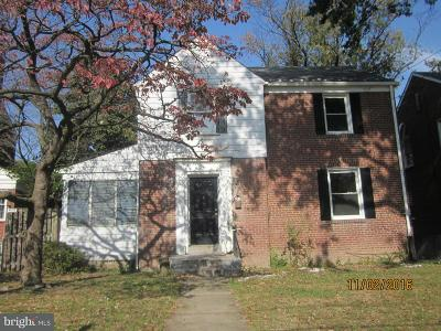 Michigan Park Single Family Home Under Contract: 1832 Varnum Street NE