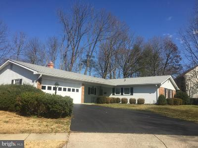 Crofton Single Family Home For Sale: 1809 Reynolds Court