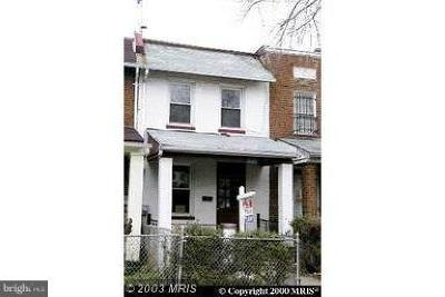 Trinidad Townhouse Under Contract: 1840 L Street NE
