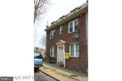 Brentwood Multi Family Home For Sale: 1617 Corcoran Street NE