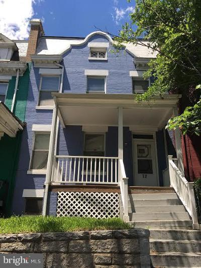 Townhouse Under Contract: 72 Rhode Island Avenue NE