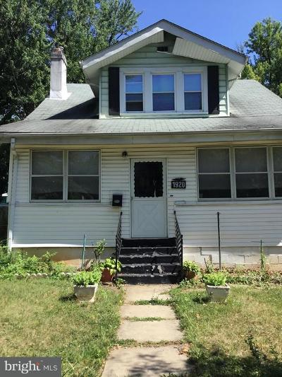 Single Family Home Under Contract: 1920 Lawrence Street NE