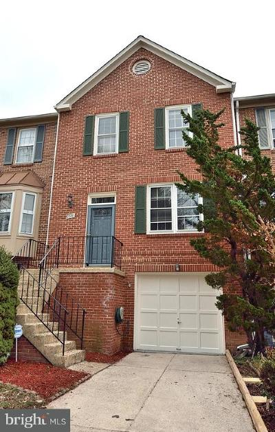 Burke Townhouse For Sale: 9378 Peter Roy Court