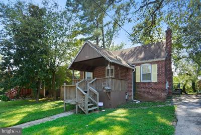 Hyattsville Single Family Home Under Contract: 5510 38th Avenue